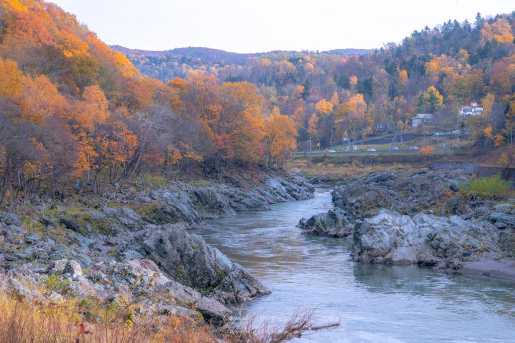 神居古潭の川